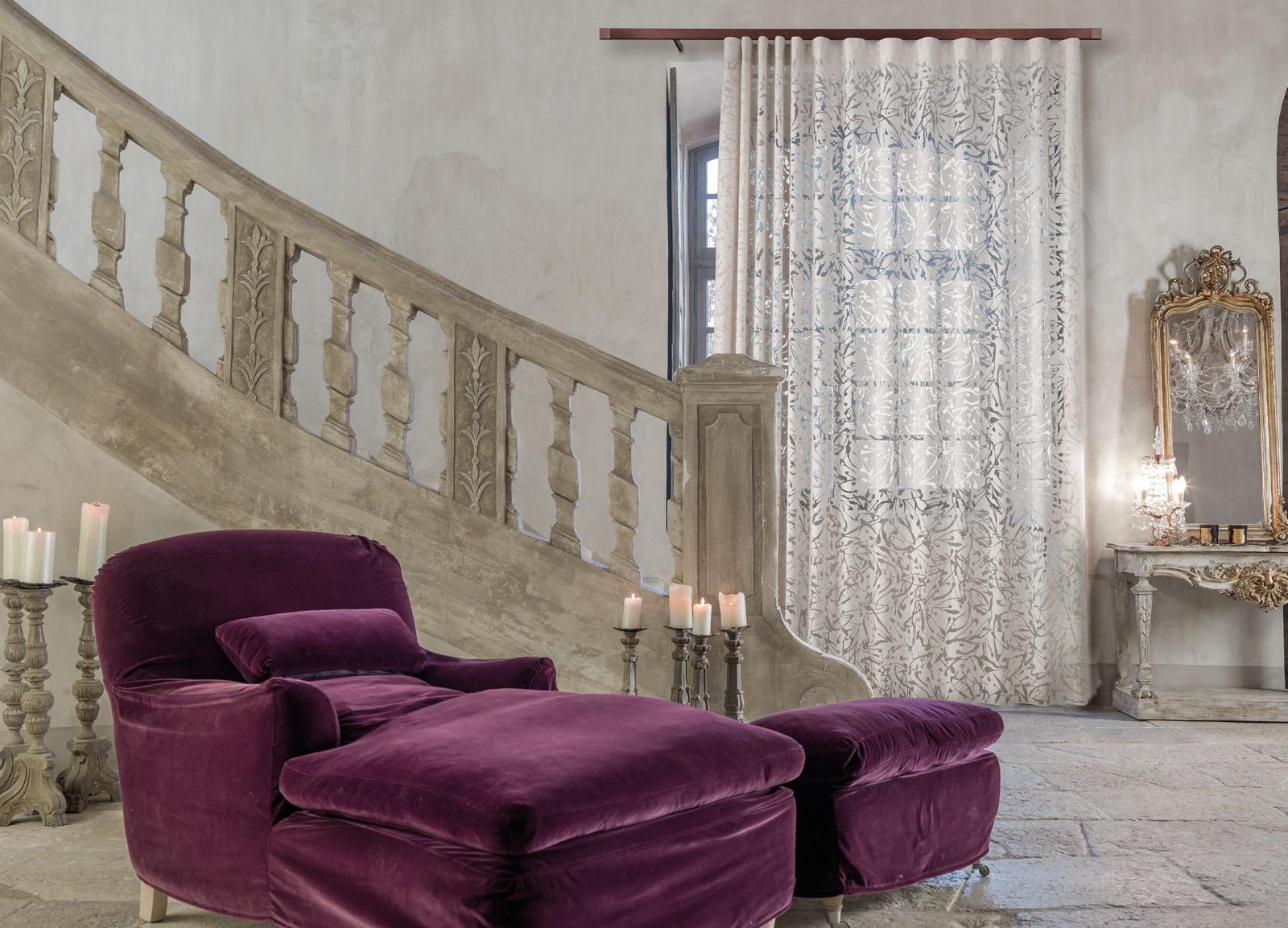 Collezione home ciesse tendaggi i sogni ciesse for Tende casa classica