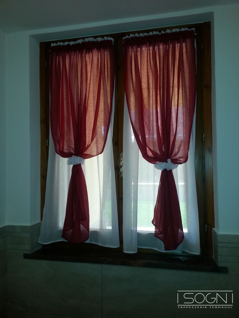 Tendaggi verona i sogni tendaggi verona for Idee tende a vetro
