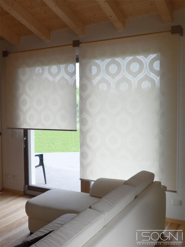 Tende rullo decorative i sogni tende a rullo verona for Shiny home tende a rullo